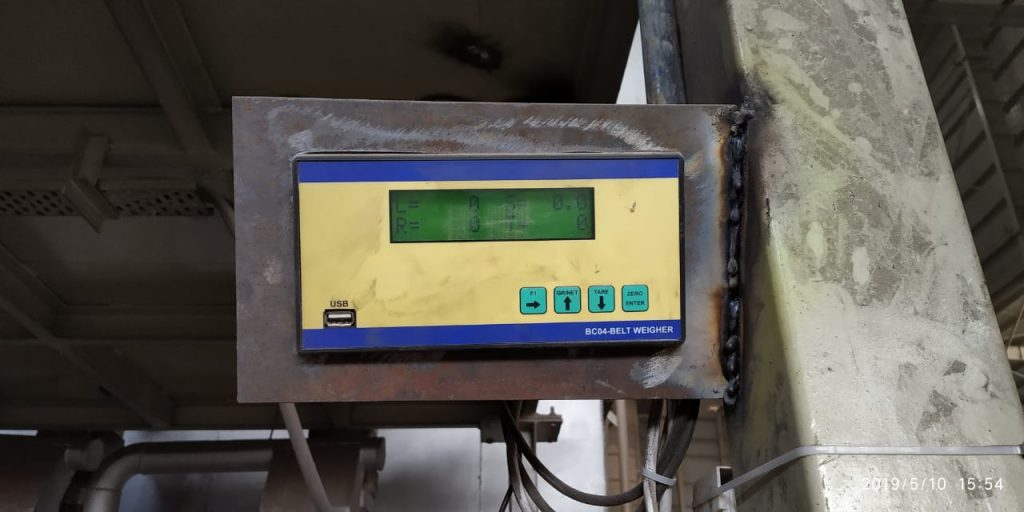 Belt Weighing Indicator
