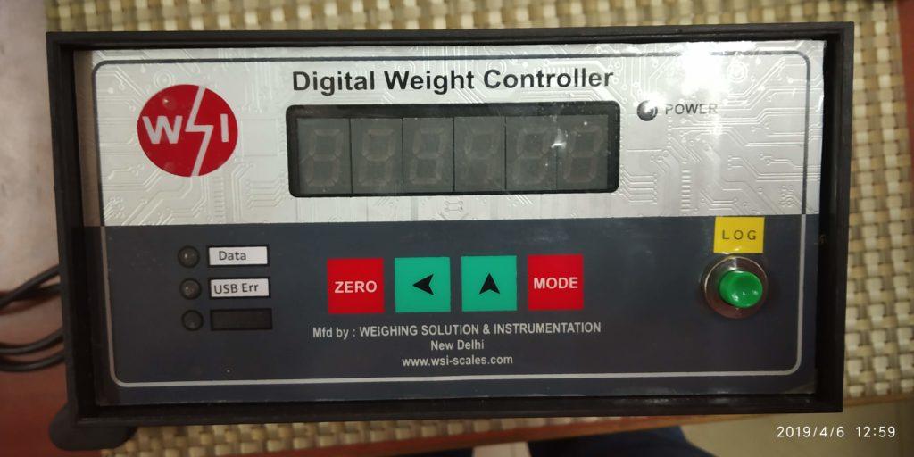 data logging weighing system