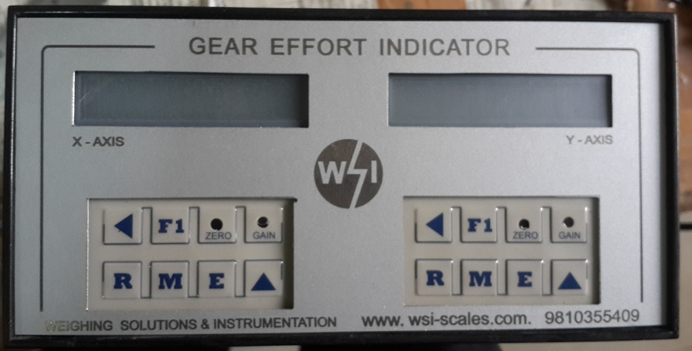 Gear Effort Indicator