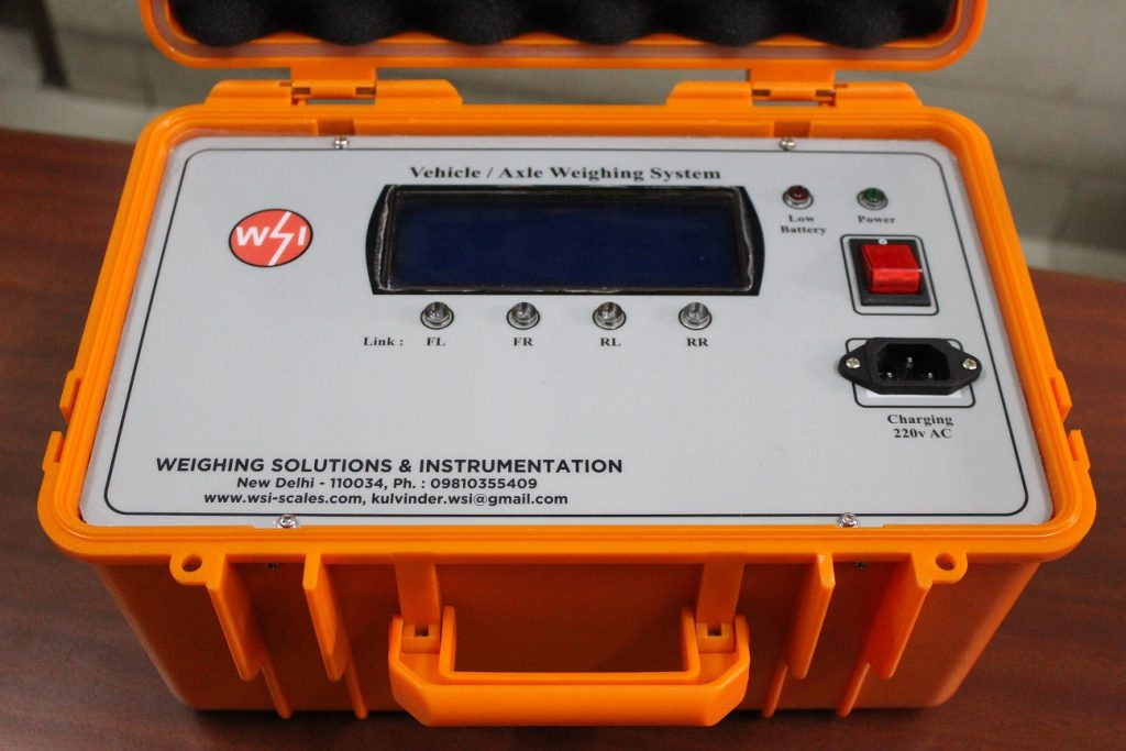 portable vehicle weighing system