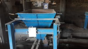 Collection hopper_1s automatic batching system