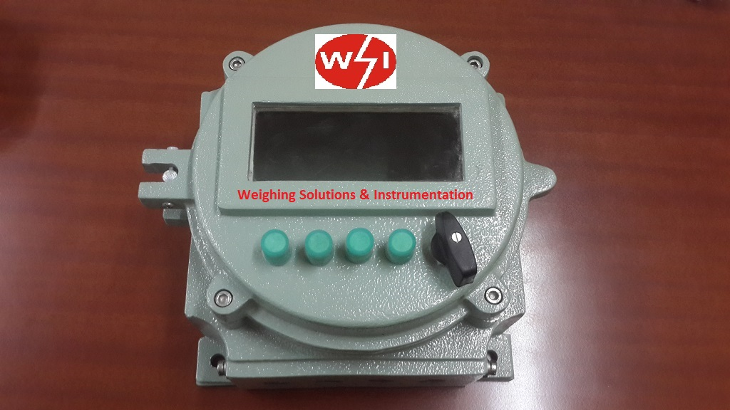 Flameproof weighing systems