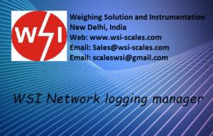 Data logging software welcome screen